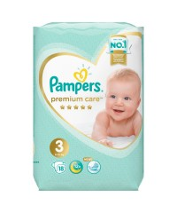 Pampers Premium Care 3(18 шт)